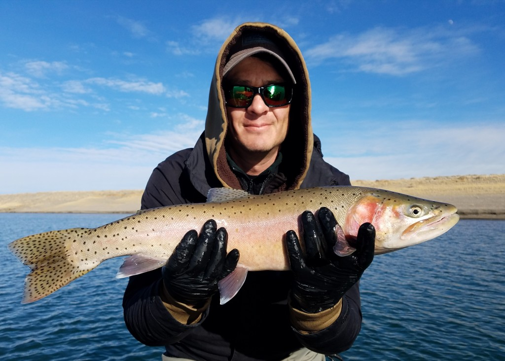 Pyramid lake guides world 39 s largest cutthroat trout for Pyramid lake fishing report